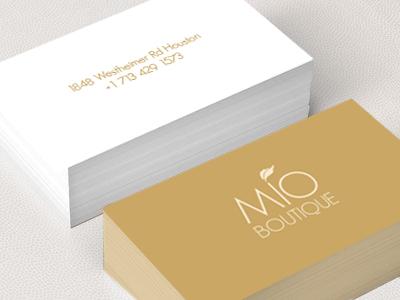 MIO BOUTIQUE - Business Cards