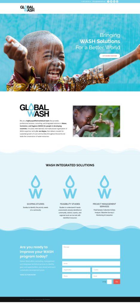 GlobalWash - WebPage