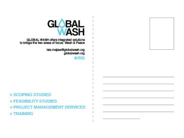 GlobalWash - PostCard