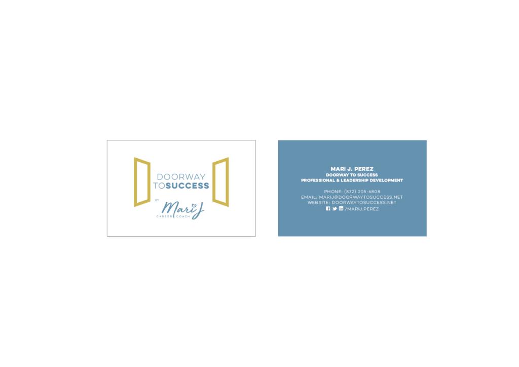 MARI J PEREZ - Business Card